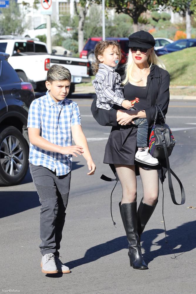 A mostanában rejtélyes nyakfoltokkal rendelkező Gwen Stefani, igen!