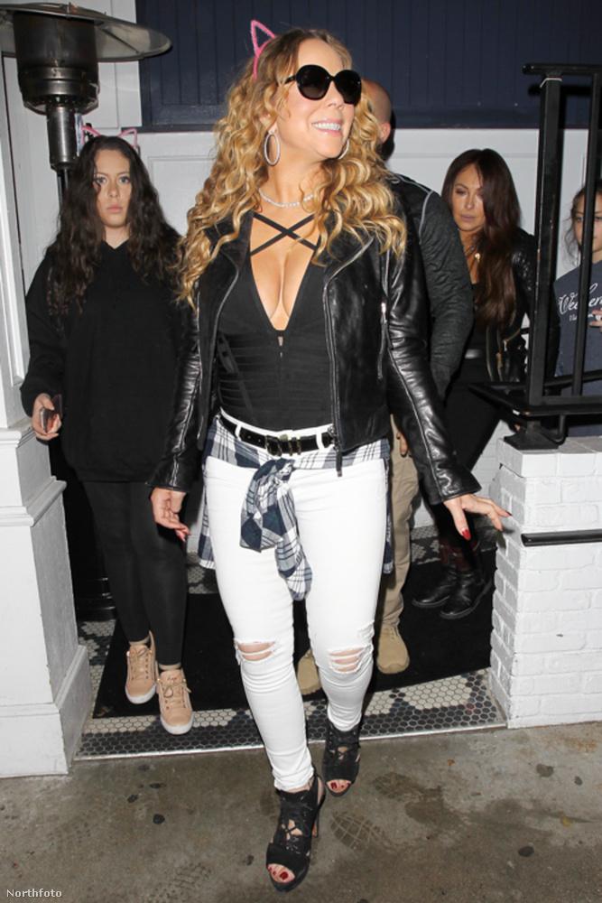 Sebaj, Mariah Carey egy kitartó és türelmes asszony