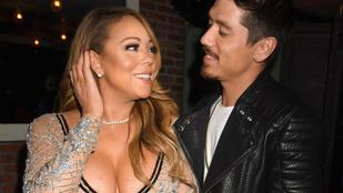 Mariah Carey új fiújából kibuktak az érzések