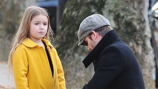 David Beckham és a lánya egyszerűen túl cukik együtt