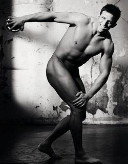 Alex Reid a Cosmpolitan jótékony célú fotóján