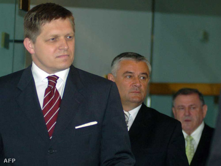 Robert Fico, Jan Slota és Vladimír Meciar