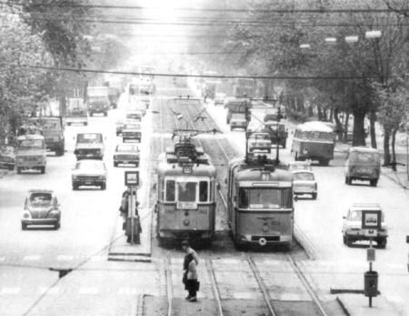 Az 55-ös a Váci úton (forrás: hampage.hu)