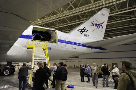 Az átalakított Boeing-747-es