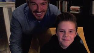Na, melyik Beckham-szülő humora rosszabb?