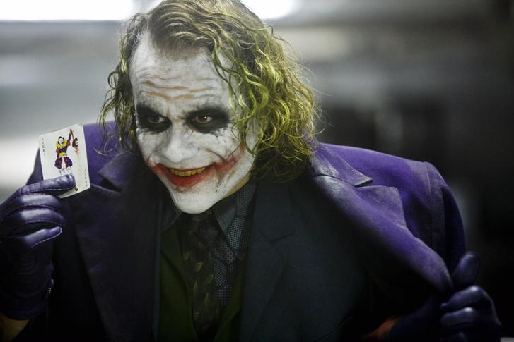 Heath Ledger a Batman - A sötét lovag című filmben