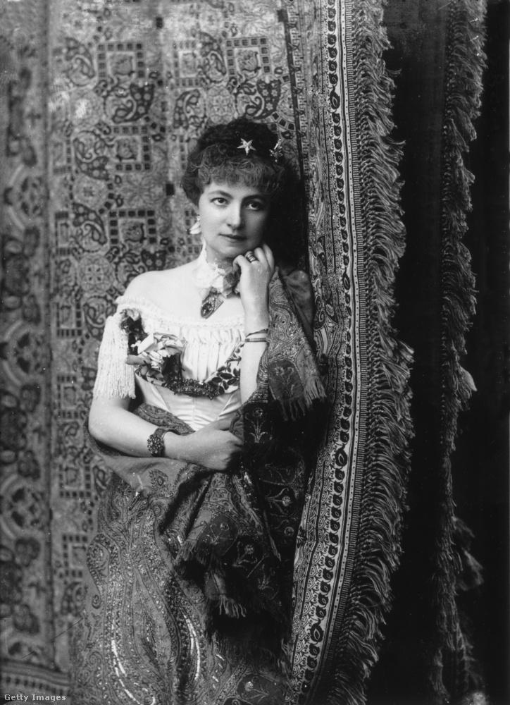 Helena Modjeska, lengyel színésznp, az 1800-as évek végén