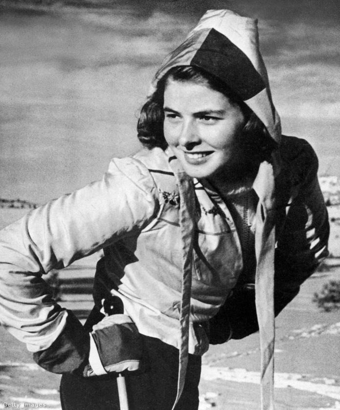 A svéd származású Ingrid Bergman 1941-ben, Kaliforniában