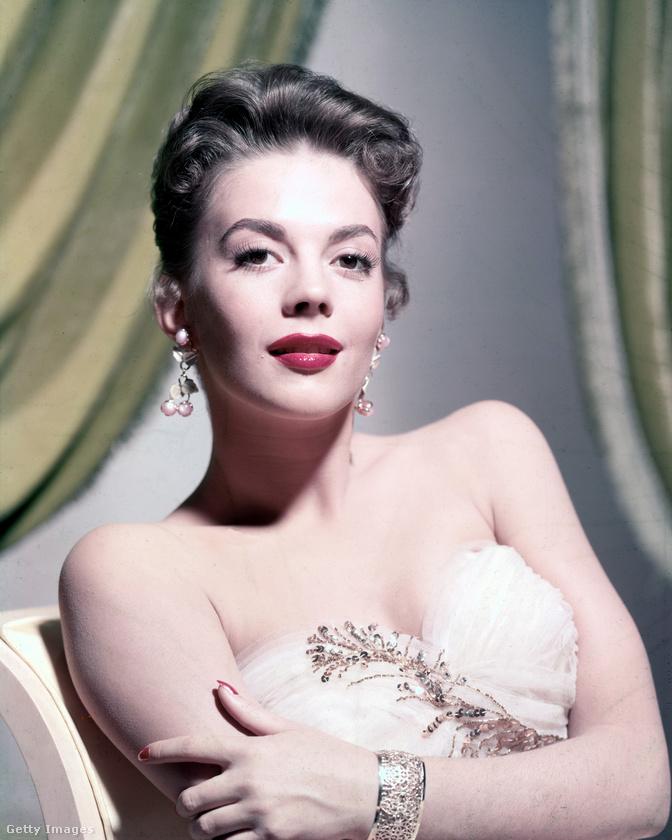 A viszonylag fiatalon - 43 évesen - elhunyt Natalie Wood, valamikor 1960 körül.