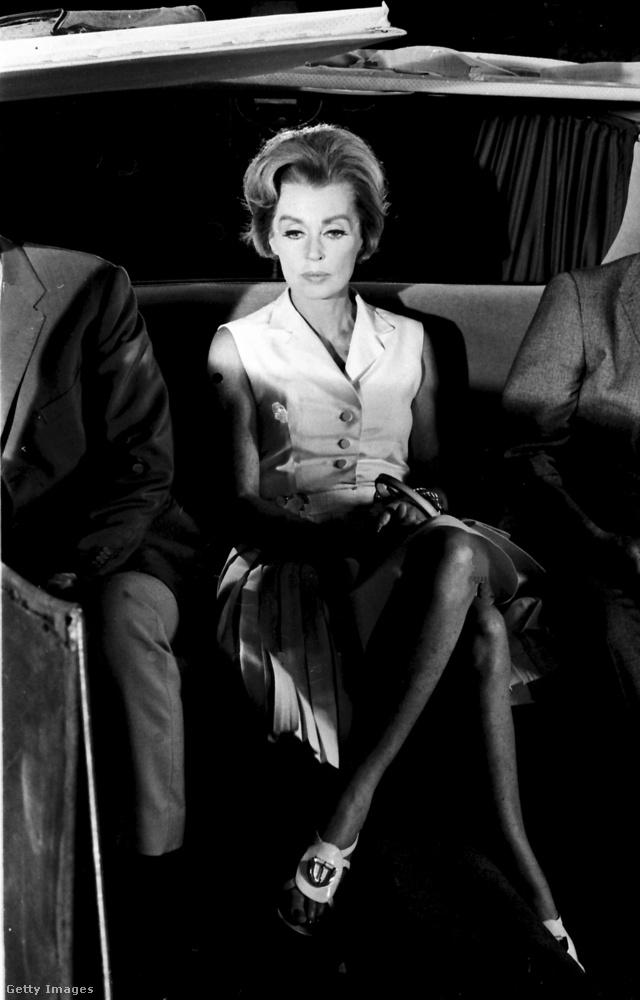 Lilli Palmer német színésznő, 1968-ban.