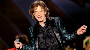 Megszületett Mick Jagger 8. gyereke