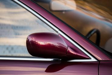 Bumfordi tükör, de krómkeretes ablak