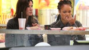 Fontos dolgok derülnek ki Sandra Bullock és Rihanna étkezési szokásairól