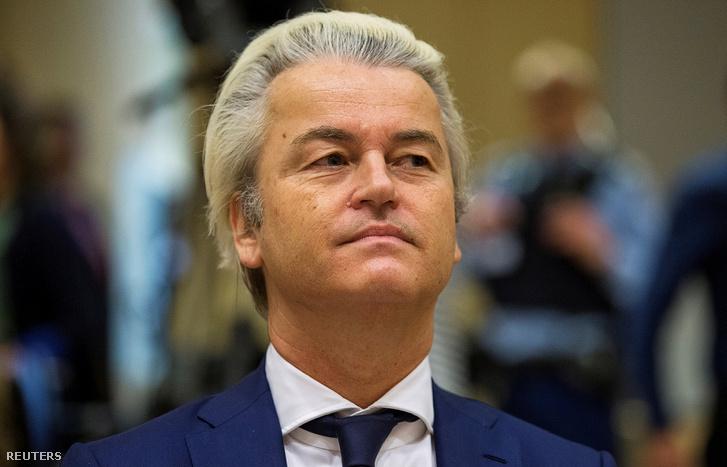 Geert Wilders a bíróságon