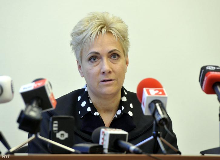 Szegedi Gyöngyvér bíró