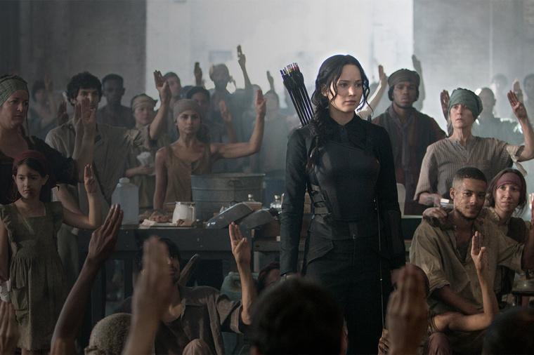 Jennifer Lawrence a második Éhezők viadala-filmben.