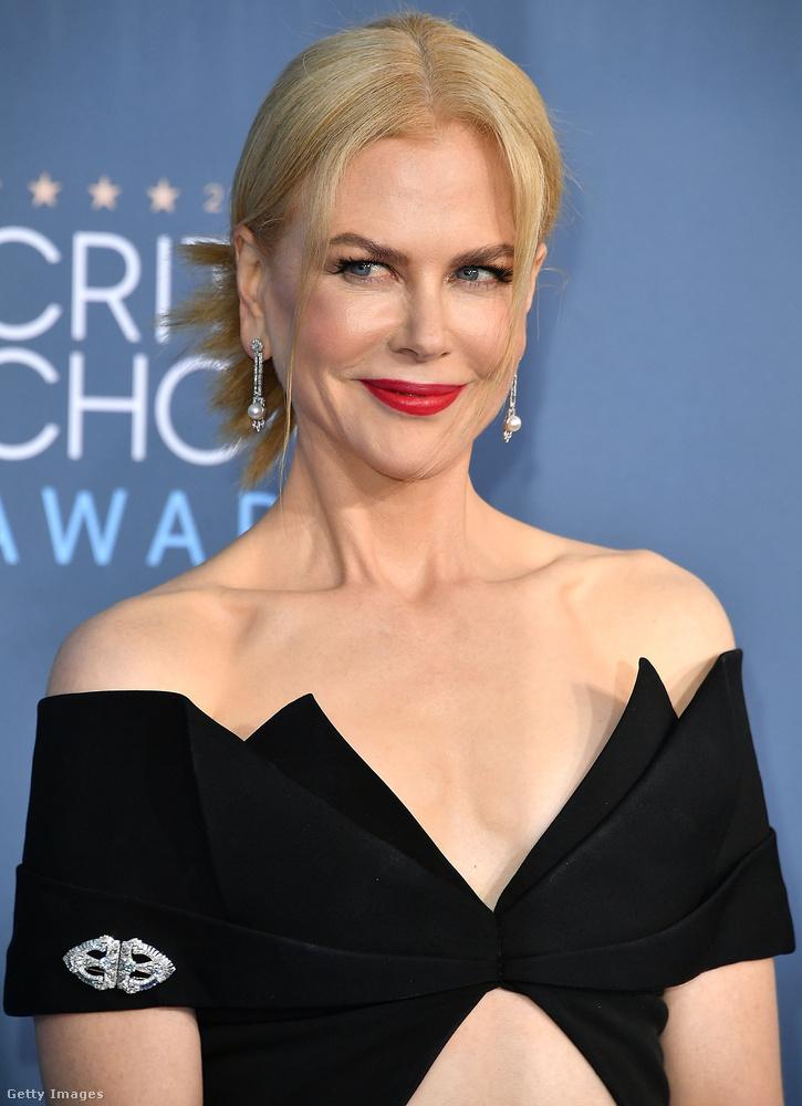 Nicole Kidman is díjat adott át: a legjobb férfiszereplőnek járót, amit Casey Affleck kapott a Manchester by the Sea című filmért.