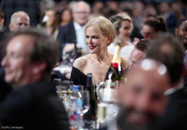 Nicole Kidman is ott volt