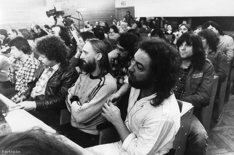 A beatzenészek tatai találkozója állami vezetőkkel 1981-ben