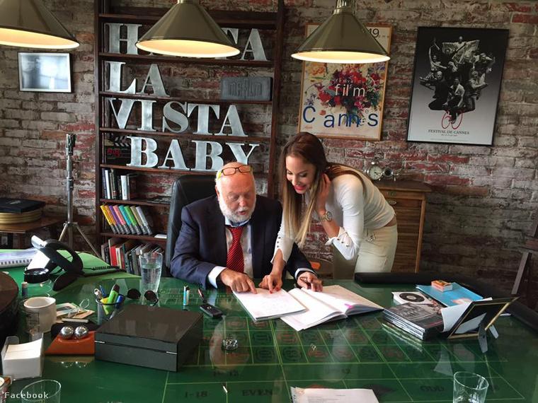 Májusban pedig benézhettünk Andy Vajna TV2-s irodájába