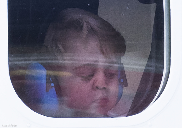 Szeptember végén és október elején György herceg Kanadában turnézott, ahol elkészült róla az egyik legjobb és legviccesebb fotó.