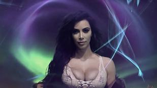 Kim Kardashian most tényleg fényt kapott