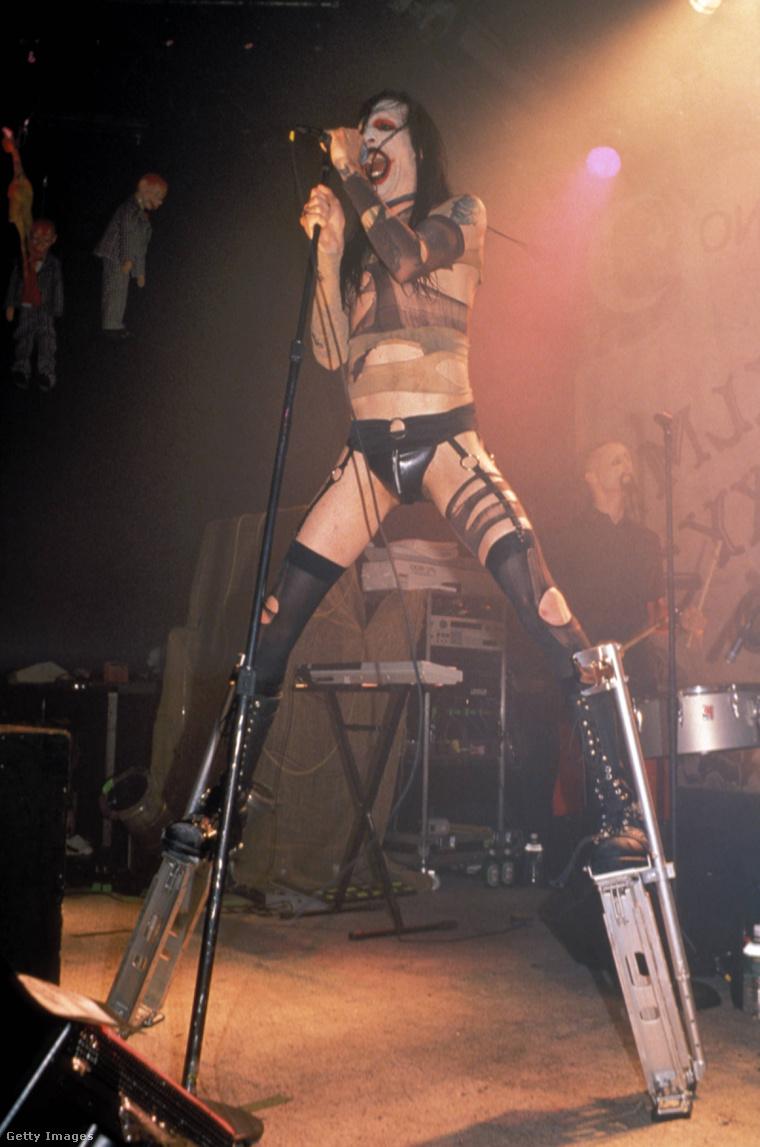 Marilyn Manson a kilencvenes évek elején.