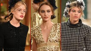 A szép celebgyerekeknek csak egy ugrás a Chanel