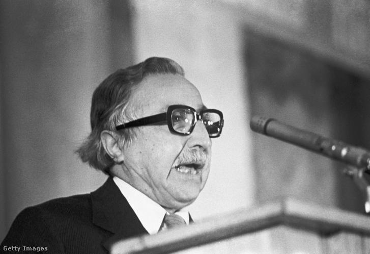 Luis Corvalán 1980-ban