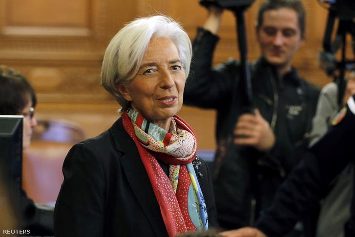 Christine Lagarde a bíróságon