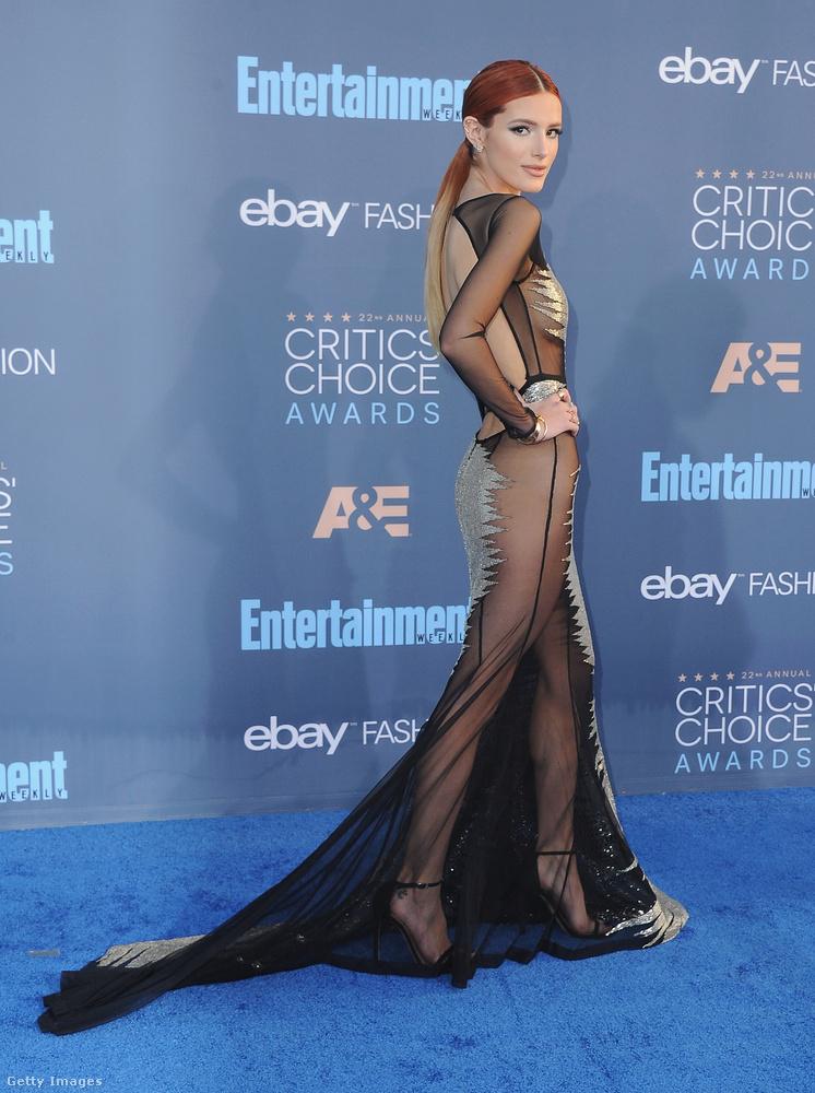 Ő itt Bella Thorne, egy tizenkilenc éves színésznő, akit mostanában láthatott nálunk néhányszor