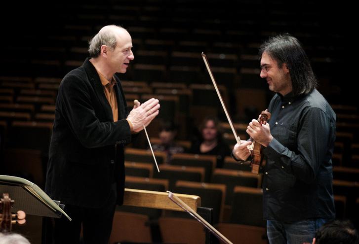 Fischer Iván és Leonidas Kavakos