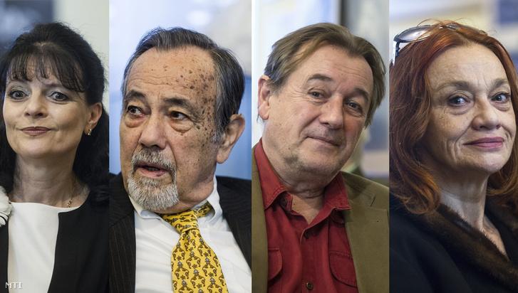 Dimanopulu Afrodité, Kertész Péter, Szatmári György és Szoboszlai Éva