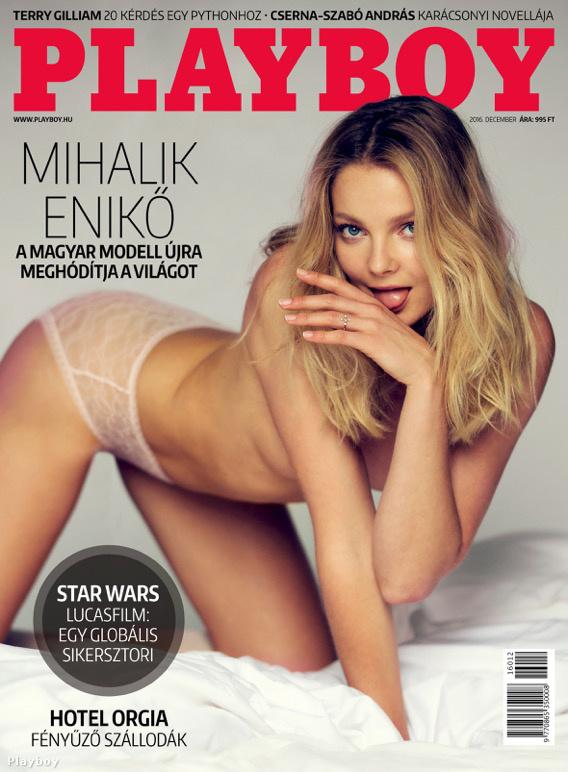 Úgy tűnik ez egy ilyen év, mert Mihalik Enikő meg a Playboy amerikai és magyar kiadásának címlapját nyerte meg.