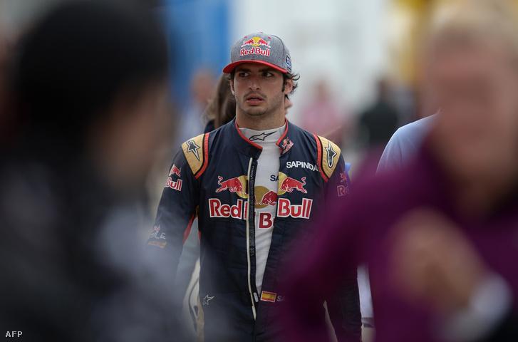 Carlos Sainz, az ifjabb