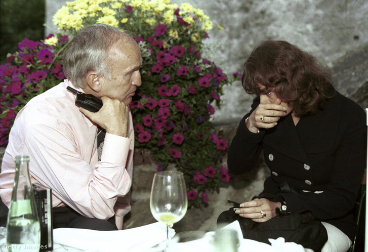 Feleségével, Ida Mauss-szal