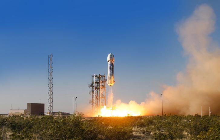 blueorigin launch