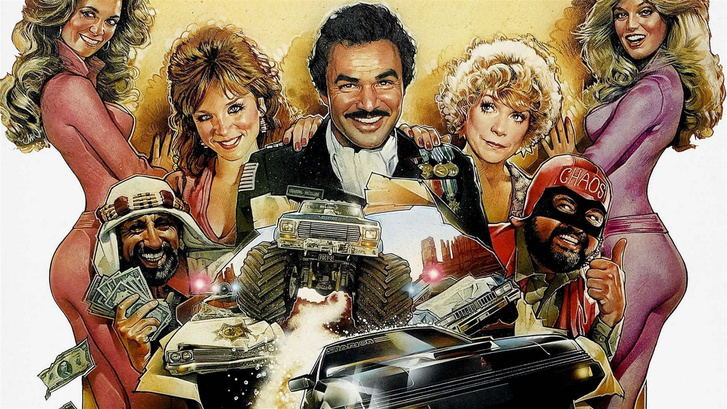 1982, Cannonball Rally, Burt Reynoldsszal