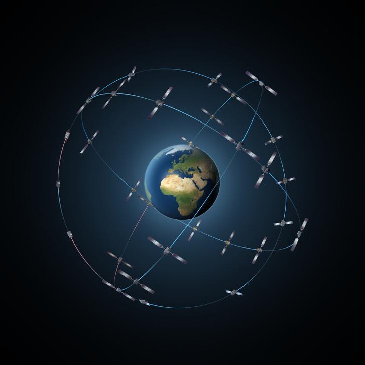 Harminc Galileo GPs-műhold alkotja az új európai navigációs rendszert