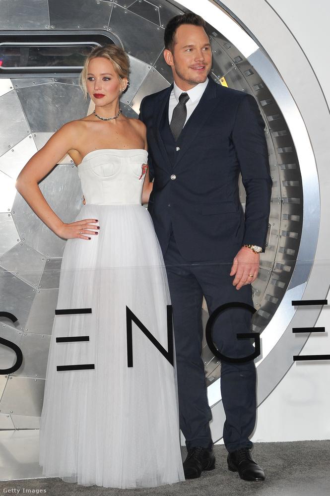 Csütörtök este tartották Chris Pratt és Jennifer Lawrence közös filmjének a bemutatóját