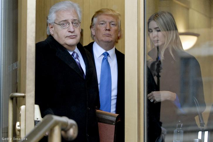 David Friedman, Donald Trump és Ivanka Trump 2015-ben
