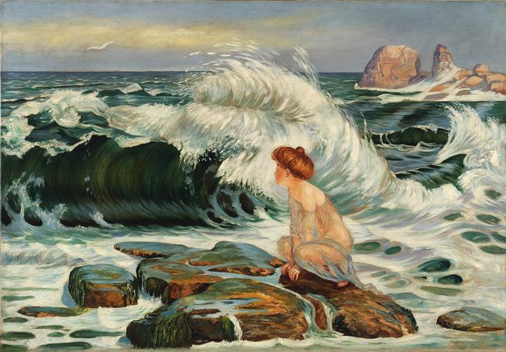 František Kupka: Hullám (1902)