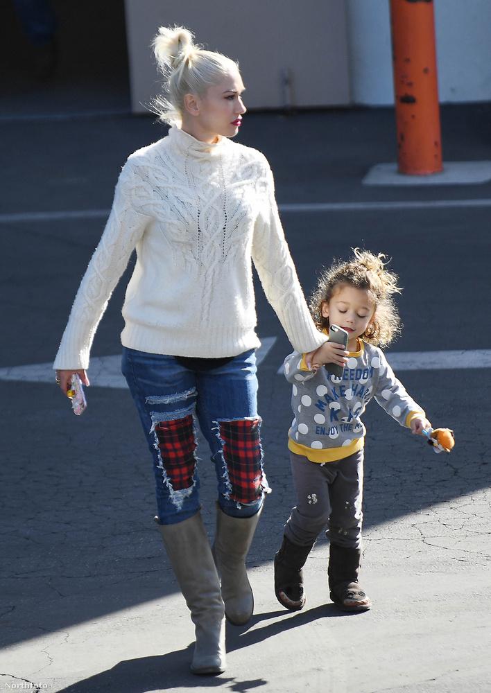 Most Gwen Stefani és családja kis házát tudjuk megmutatni.