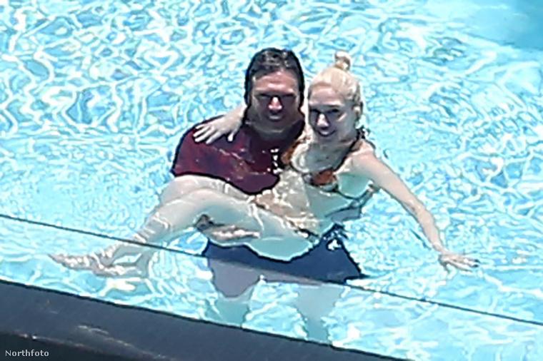 Na, itt éldegélt Gwen Stefani és a kis családja.