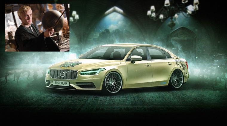 Volvo Malfoy - Draco Malfoy és a Volvo S90 Forrás: carwow