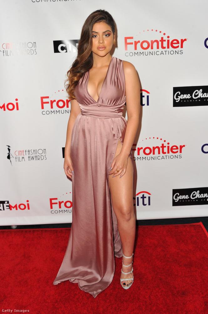 Ő Lauren Giraldo színész-énekesnő