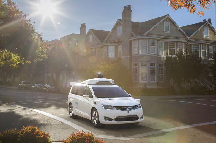 Waymo FCA Fully Self Driving Chrysler Pacifica Hybrid 2.0