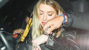 Cara Delevingne és Amber Heard már megint kettesben távoztak egy buliból