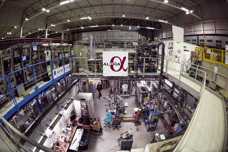 A CERN ALPHA laborja