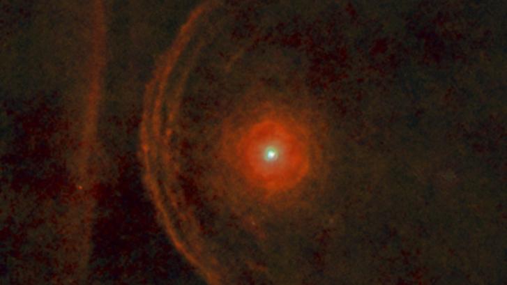 A Betelgeuse a Herschel teleszkóp képén